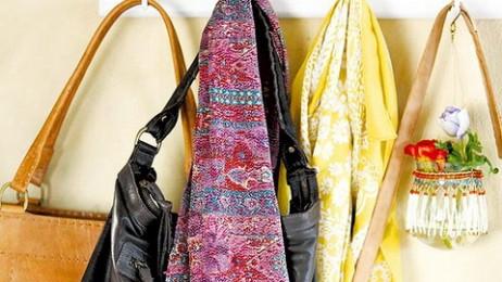 Ideias para guardar bolsas e acessórios