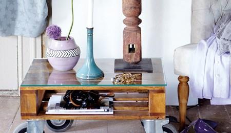 Tutoriais DIY: como fazer uma mesa com paletes