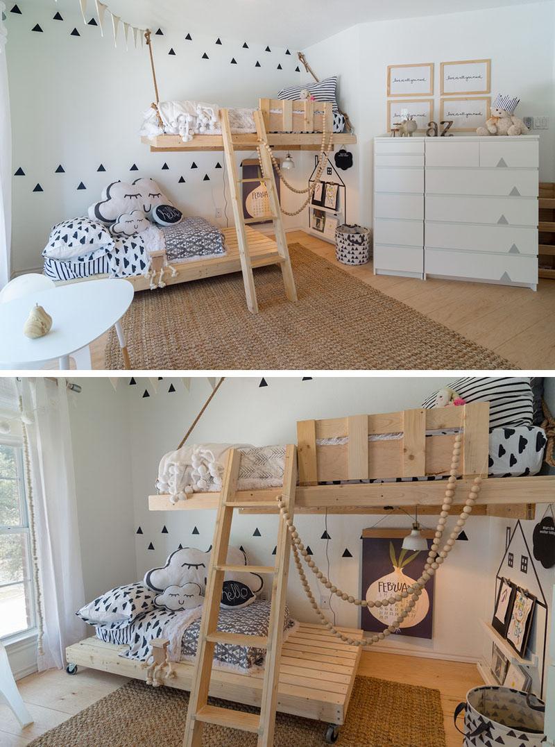 O quarto nórdico para as crianças?