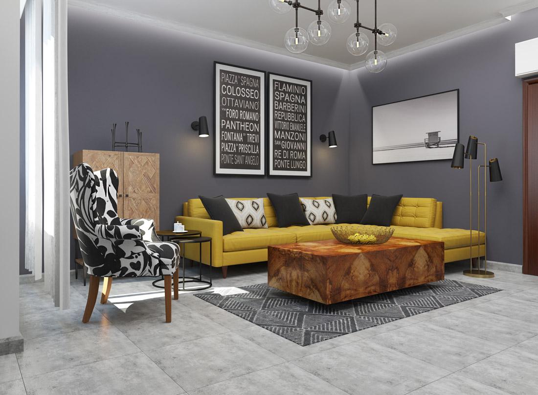 Planejamento em 3D para o seu projecto de decoração de interiores